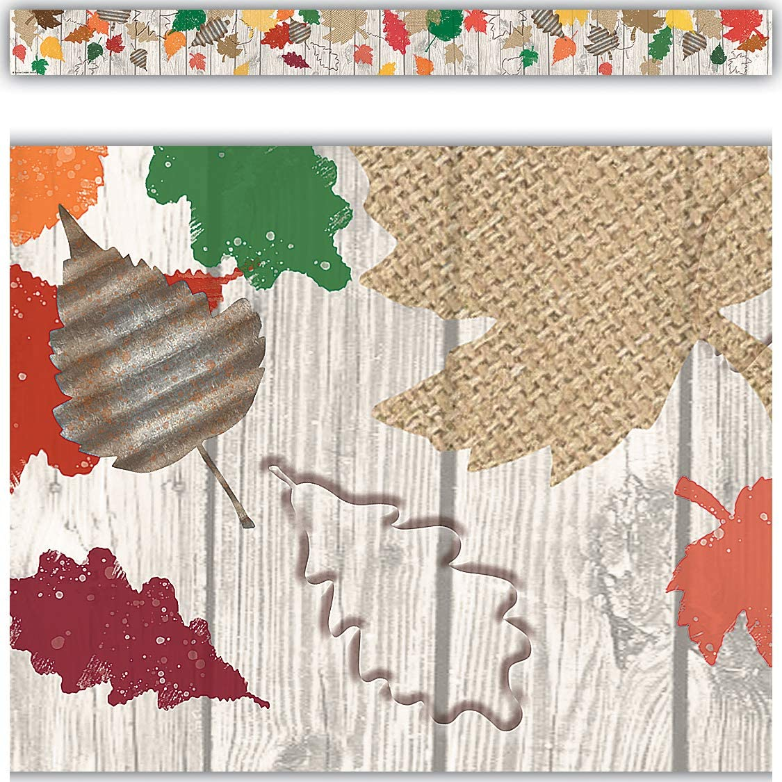 Teacher Created Resources Home Sweet Classroom Happy Fall Straight Border Trim