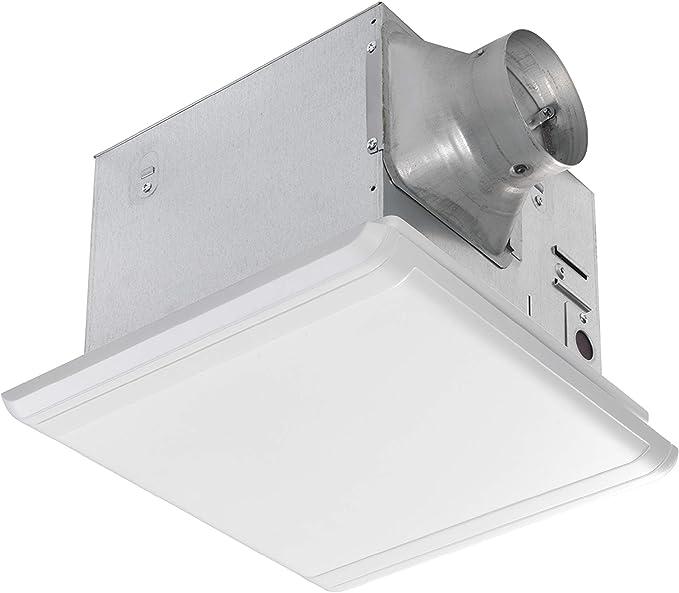 Homewerks 7107-03HW Bathroom Fan Ceiling Mount Exhaust Ventilation 1.0 Sones