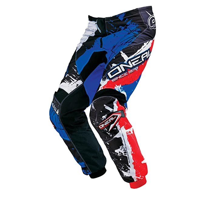 ONeal Element MX Hose Shocker Schwarz Rot Blau Motocross Enduro Offroad 0124S-5