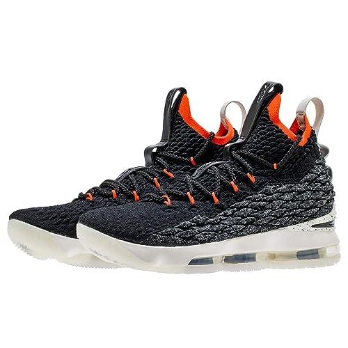 pretty nice b1ceb 3391b Nike Kids' Preschool Lebron 15 Basketball Shoes (13K, Black/Red/White)