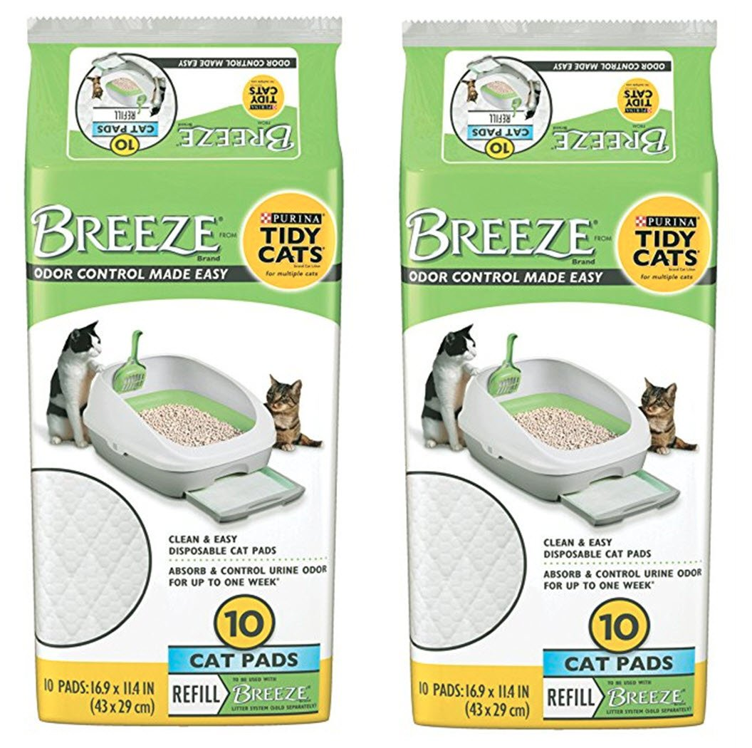 Tidy Cat Breeze Pads, 10 Count Mulit Packs by Tidy Cat