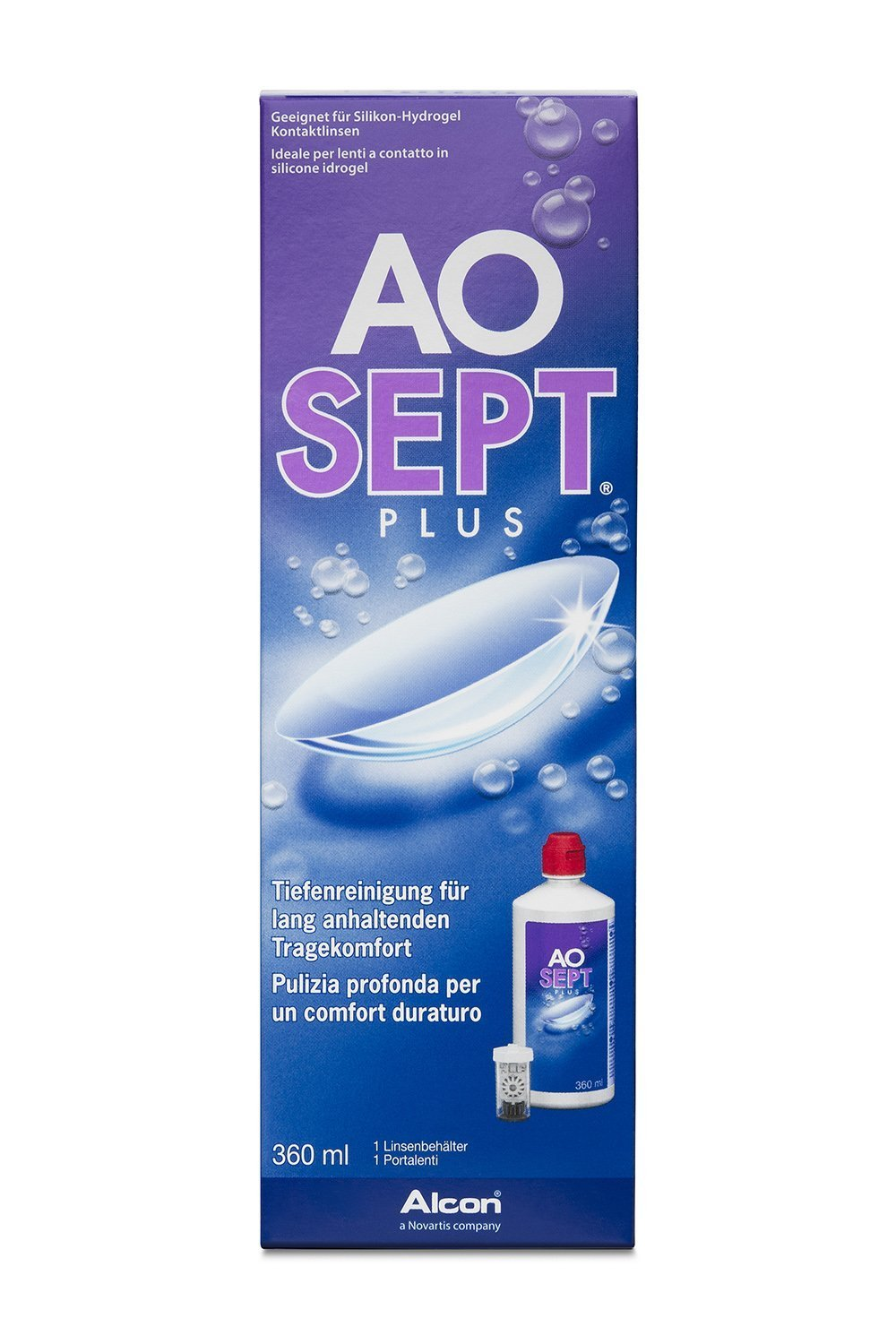 Aosept Plus Deep Cleansing Contact Lense Solution 360ml 3577418