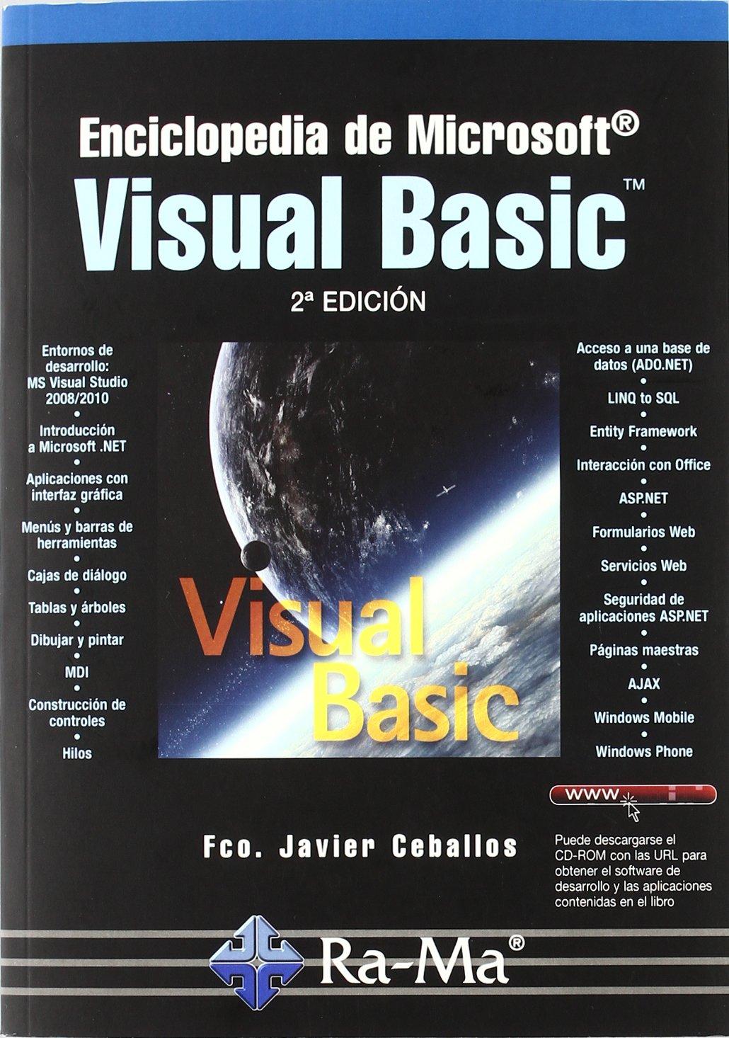 Enciclopedia de Microsoft Visual Basic. 2ª edición (Spanish) Paperback – January 1, 2008