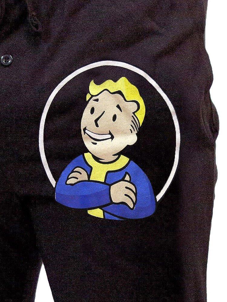 Fallout Vault Boy dormir pantalones de pijama Gamer - negro - : Amazon.es: Ropa y accesorios