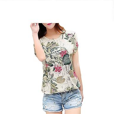 4198cf0b616 Floral Print Women s Blouses ladies Shirts Summer Tops Casual Plus Size  blouse shirt fashion korean NEW