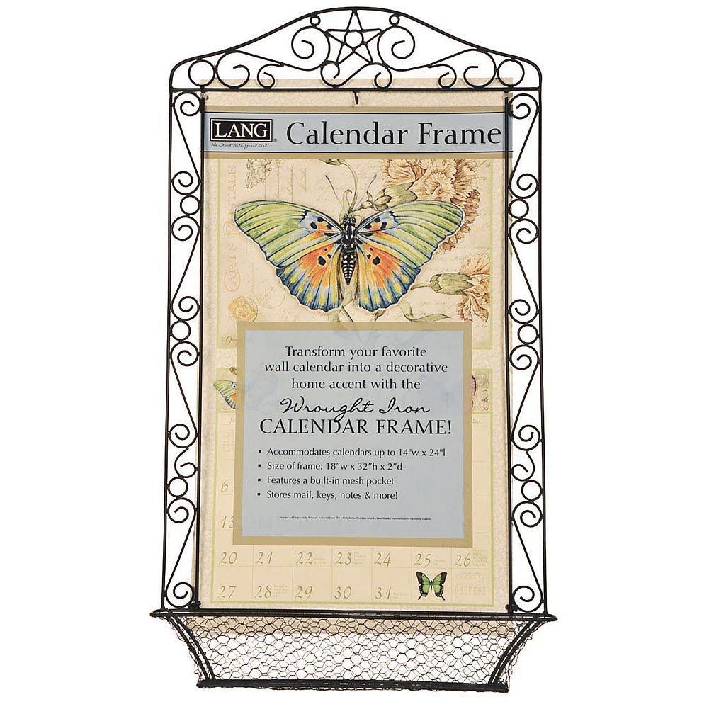 Amazon.com: Wrought Iron Calendar Frame, Assorted Organization by ...