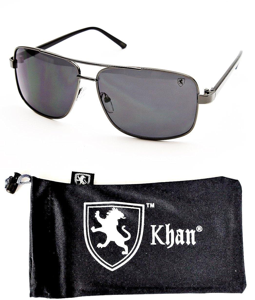 2006 gunmetal-black, UV400 A78-kp Aviator Turbo Fashion Unisex Sunglasses Pouch
