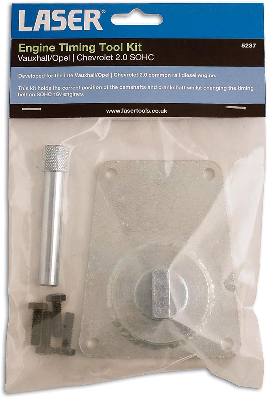 Laser 5237 Timing Tool Kit GM Vauxhall Opel Chevrolet 2.0 16v