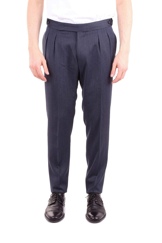Brand Size 52 TAGLIATORE BY PINO LERARIO Men's MANUEL07UIZ121blueeE blueee Wool Pants
