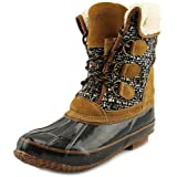 Khombu Womens Jenna Closed Toe Ankle Cold Weather Boots