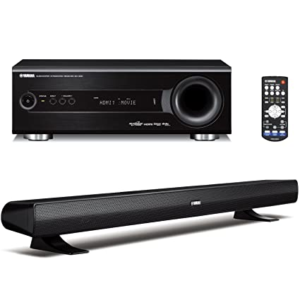 amazon com yamaha yht s400bl home theater system discontinued by rh amazon com Yamaha Sound Bar Bluetooth Yamaha Virtual Cinema Front