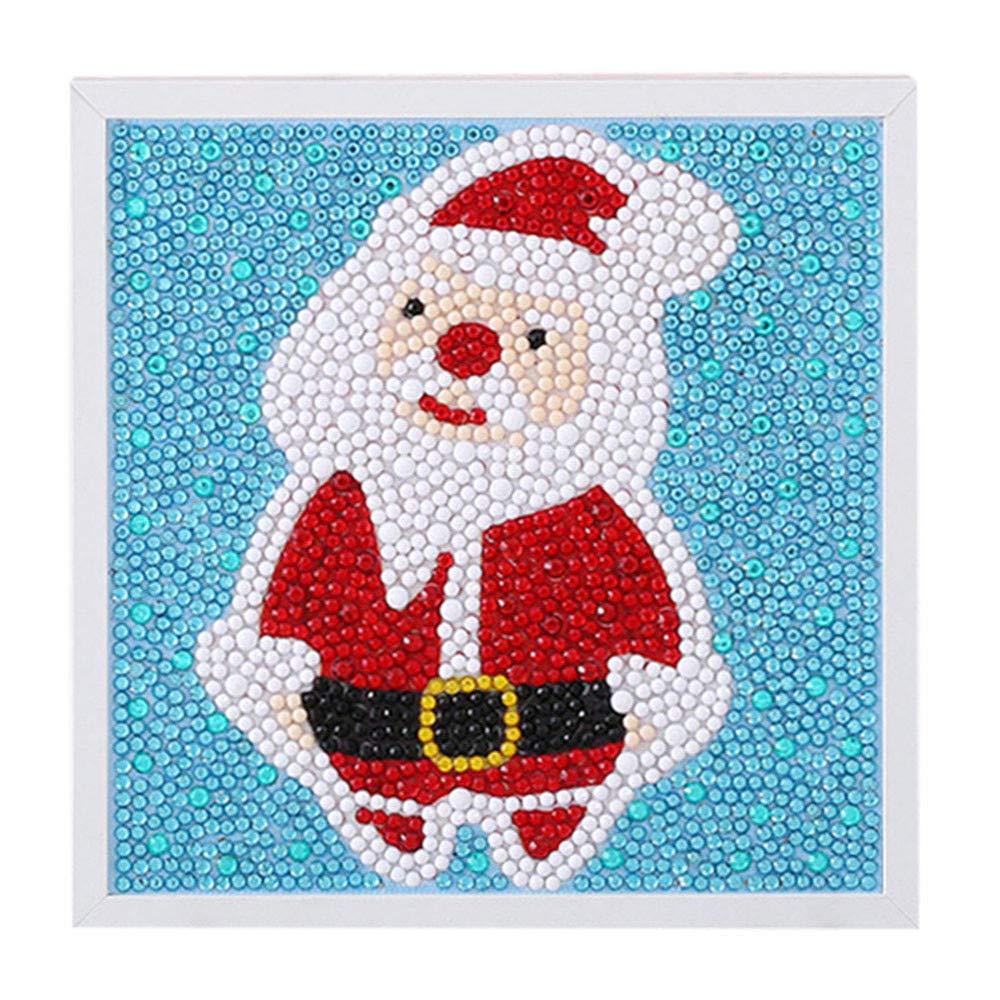 出産祝い Gbell 子供 キッズ クリスマス 額入りダイヤモンド 絵画 男の子 知育玩具 女の子 6-13歳 雪だるま サンタ クロース 手作り DIY 知育玩具 ダイヤモンド 絵画 道具キット 6-13歳 子供 ホーム 学校 手作り M GBDD0005424945 A B07JNQ6SWB, インカムアゲイン:d7281fd0 --- realcalcados.com.br