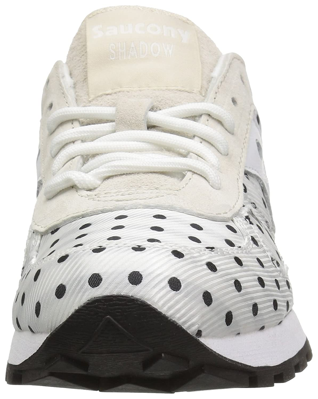 Saucony Originals Woherren Shadow Original CL Polka Dot Turnschuhe, Weiß Weiß Weiß schwarz, 11 Medium US a7bca2