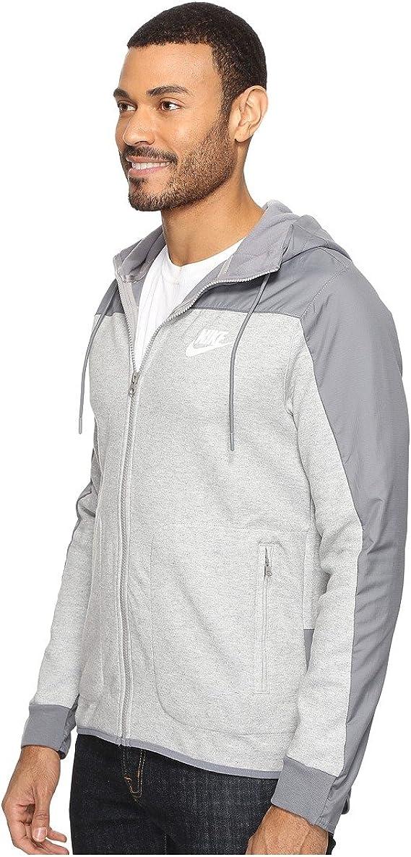 : Nike Mens Sportswear AV15 Full Zip Hooded