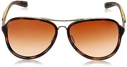 05693f7c54 Amazon.com  Oakley Womens Kickback Active Sunglasses One Size Rose  Gold Tortoise VR50 Brown Gradient  Clothing