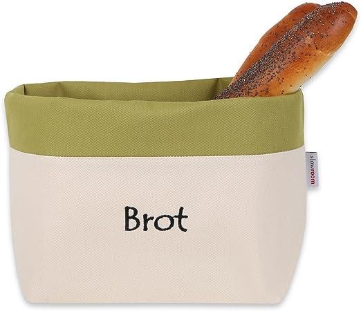 slowroom Bolsa para el Pan de Algodón 3 en 1 para mantenerlo ...