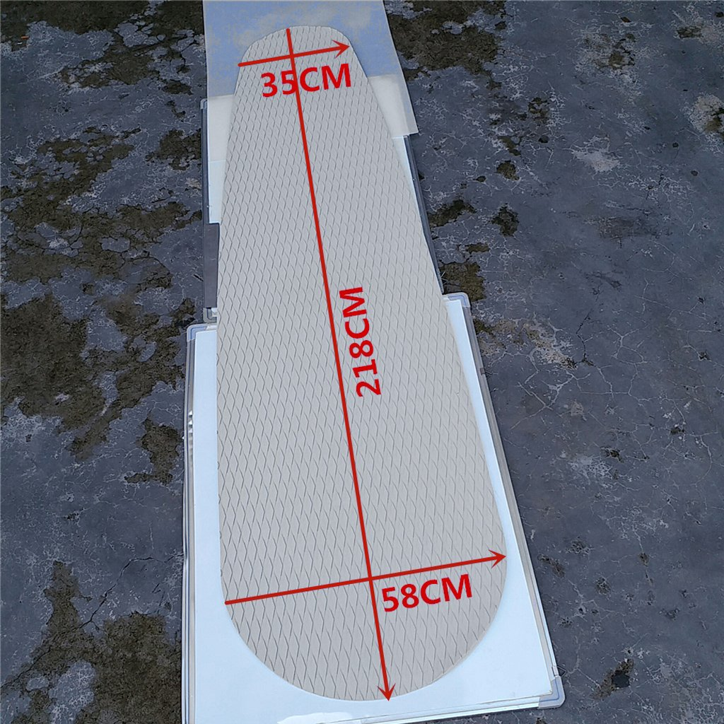 EVA SUP Traction Pad Anti-Slip Deck Grip Surf Surfboard Self Decoration