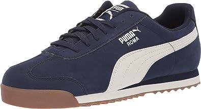 PUMA Mens Roma Smooth Nubuck Sneaker