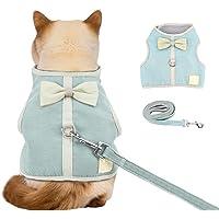 Pet Leash Dog Vest Harness,Dog Fashion Vest Leash,Harness Pull Pet Harness Adjustable Outdoor Pet Vest for Dogs Easy…