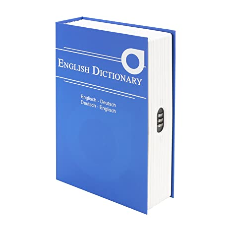 Portavalori Hmf Libro 319 05 English DictionarySerratura A TJ1c35FulK