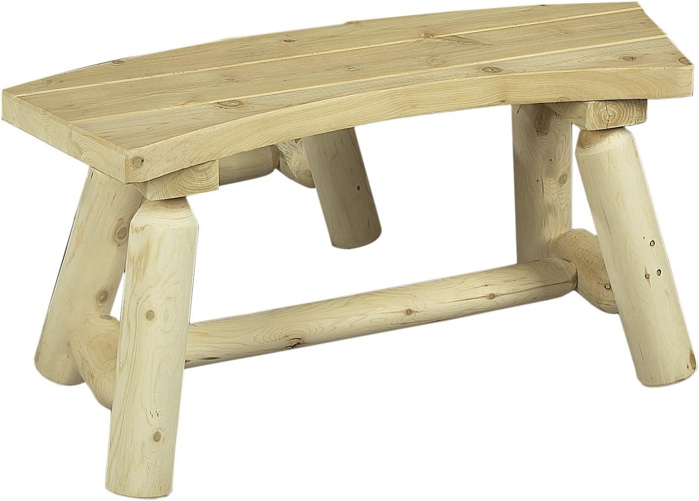 Cedarlooks 030020 Log Round Bench