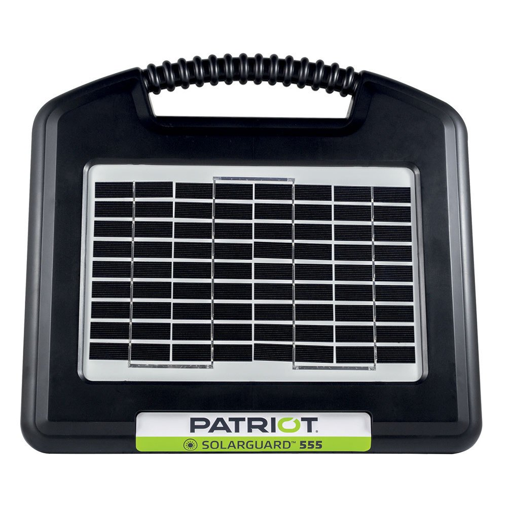 Patriot Electric Fencing SOLARGUARD 555 Fence Energizer 12V by Patriot Electric Fencing
