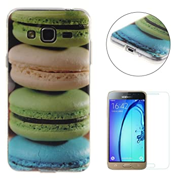 Samsung Galaxy J3 2016/2015 Version Case [with Free Screen  Protector],CaseHome