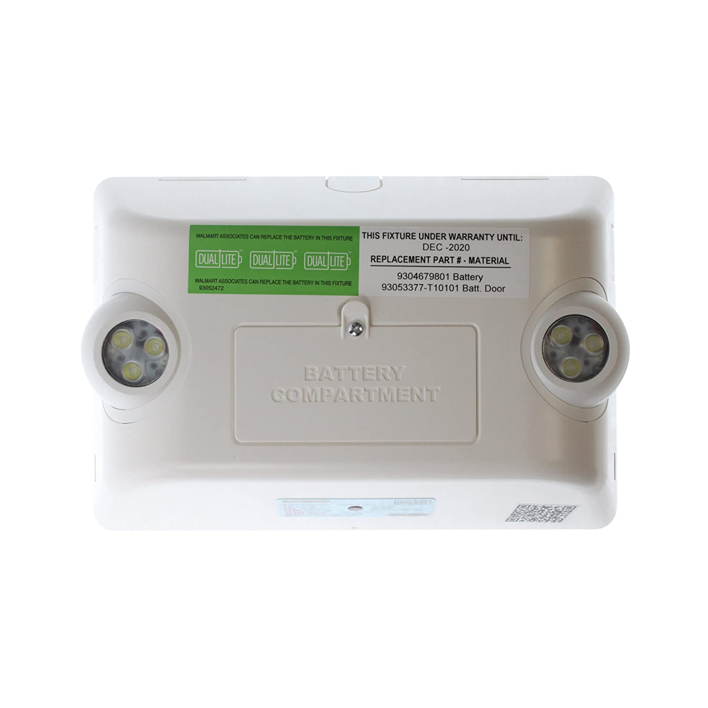 Hubbell Dual-Lite EVHC6I-WM LED Emergency Light White Bug-Eye Type 120//277V