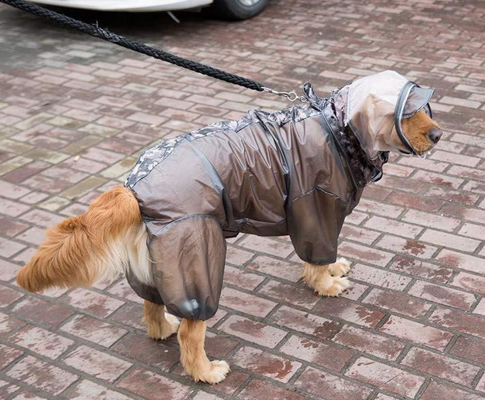 MEIbax Moda Ropa para Mascotas Chubasqueros Impermeables Perros Chubasqueros Perro peque/ño Ponchos