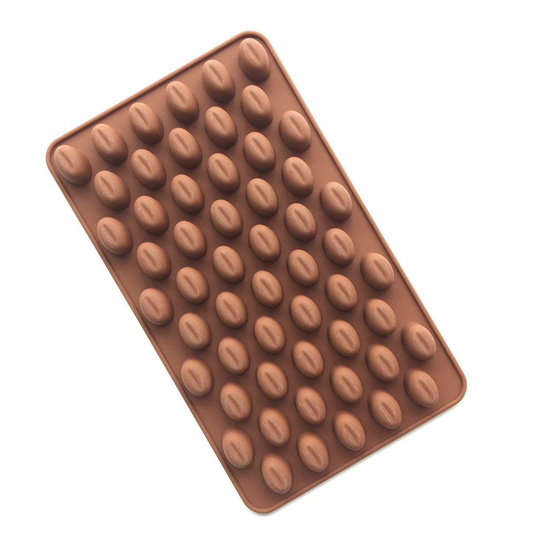 Hilai 55/cavit/à mini chicchi di caff/è Chocolate Sugar Candy Mold Mould Cake Decor