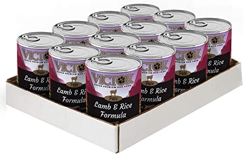 Victor Lamb Rice Formula Pate Dog Food