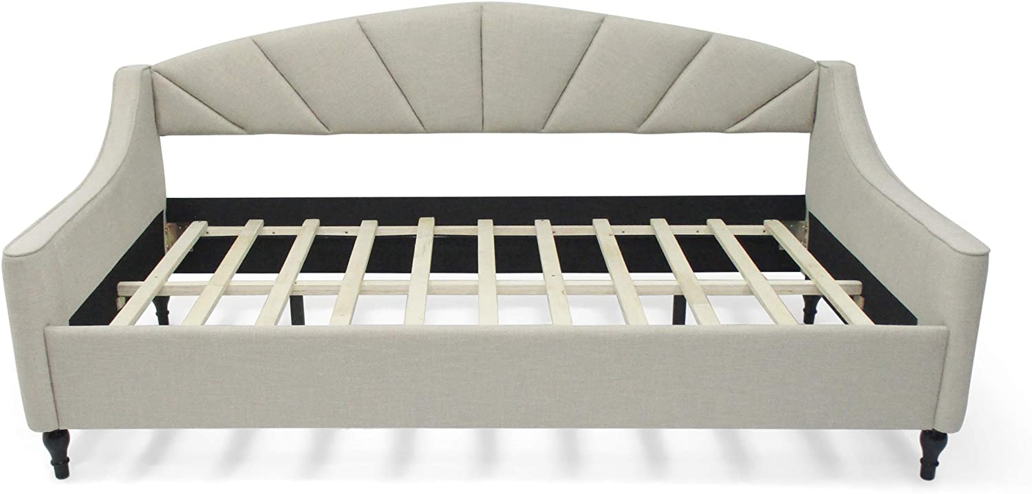 Christopher Knight Home Obreanna Daybed, Beige, Black