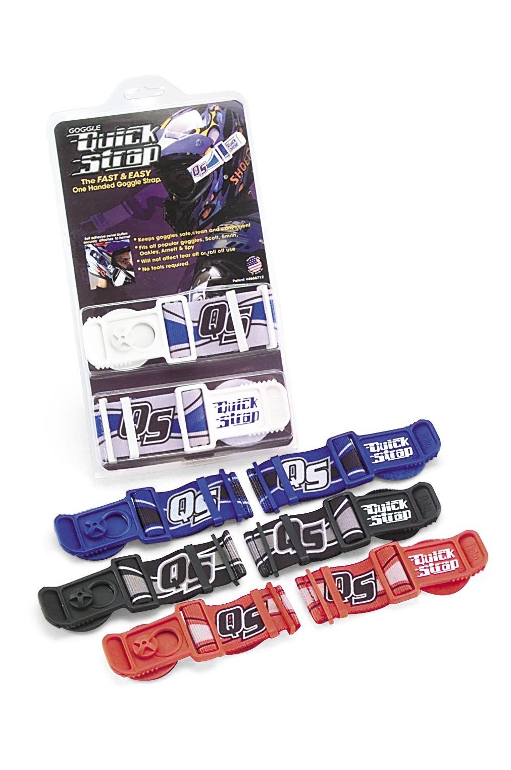 Roko Sports Goggle Quick Straps - Black QS-40 BLK