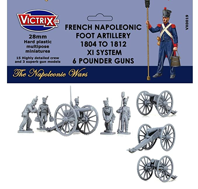 Victrix VX0019 - French Napoleonic Artillery 1804-1812 XI