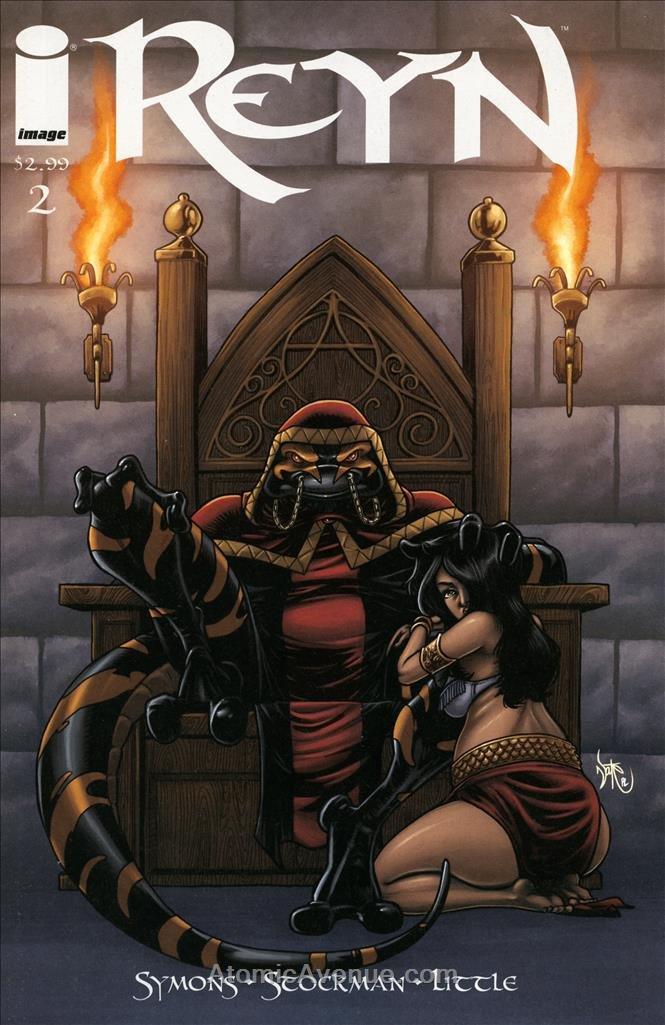Reyn #2 VF/NM ; Image comic book