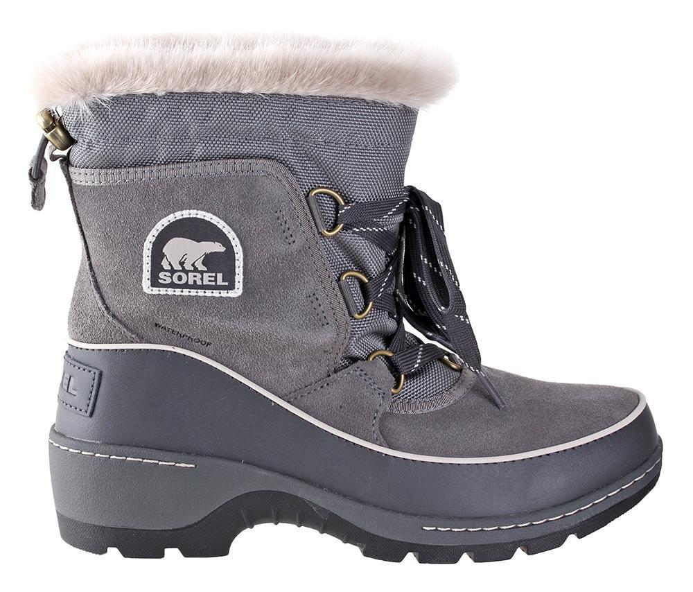 SOREL Women's Tivoli III Boot Quarry/Cloud Grey 10