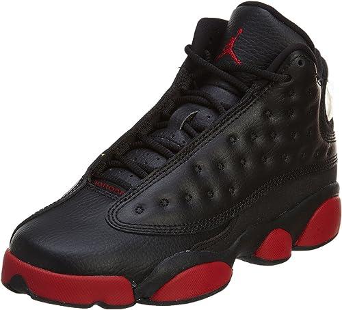 new product wholesale dealer new arrivals Amazon.com: Jordan Nike Mens Air 13 Retro BG White Gym Red ...