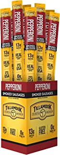 product image for Tillamook Country Smoker All Natural, Real Hardwood Smoked Pepperoni Sausage Snack Stick, 1.44-oz (Pack of 24)