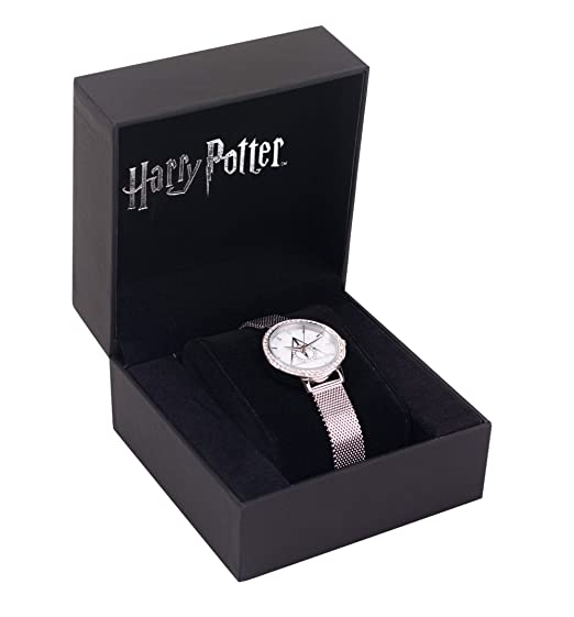 114768b73 Swarovski Crystal Embellished Harry Potter Deathly Hallows Watch:  Amazon.ca: Watches