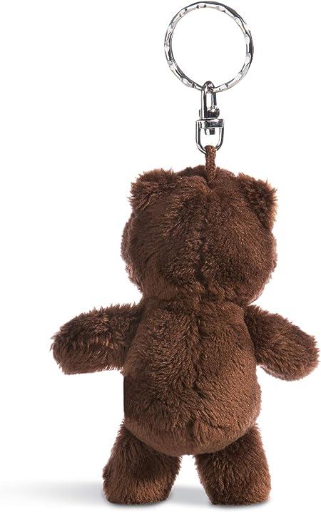 Nici forest friends Schlüsselanhänger Plüsch 10 cm Grizzly Bär Criz Lee Teddy