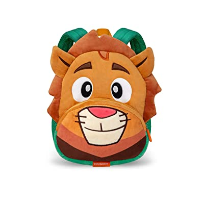 Jungle Academy Toddler Plush Backpack, Lionel the Lion | Kids' Backpacks