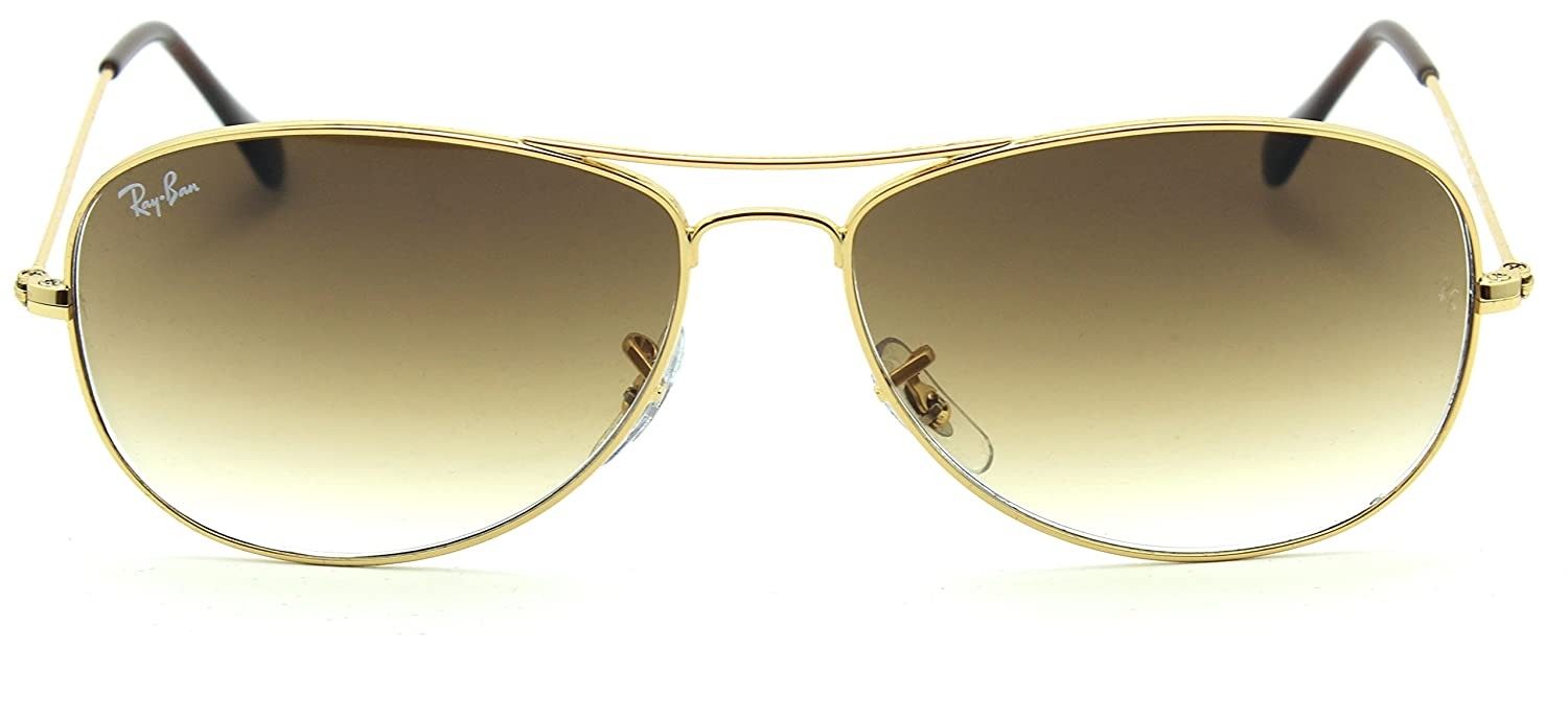 Amazon.com: Ray-Ban RB3362 COCKPIT Aviator Unisex gradiente ...
