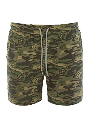 38e87576f6 Mens Swimming Shorts Brave Soul Camouflage Trunks Army Military Mesh ...