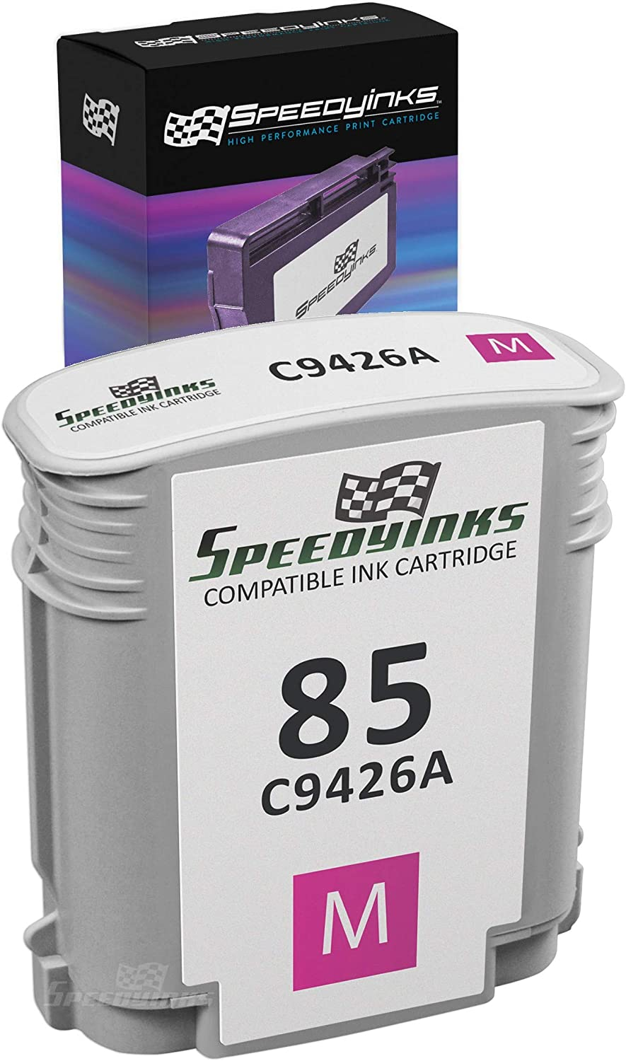 Speedy Inks Remanufactured Ink Cartridge Replacement for HP 85 / C9426A (Magenta)