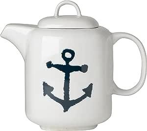 Amazon.com | Now Designs 40-Ounce Teapot, Anchors: Teapots