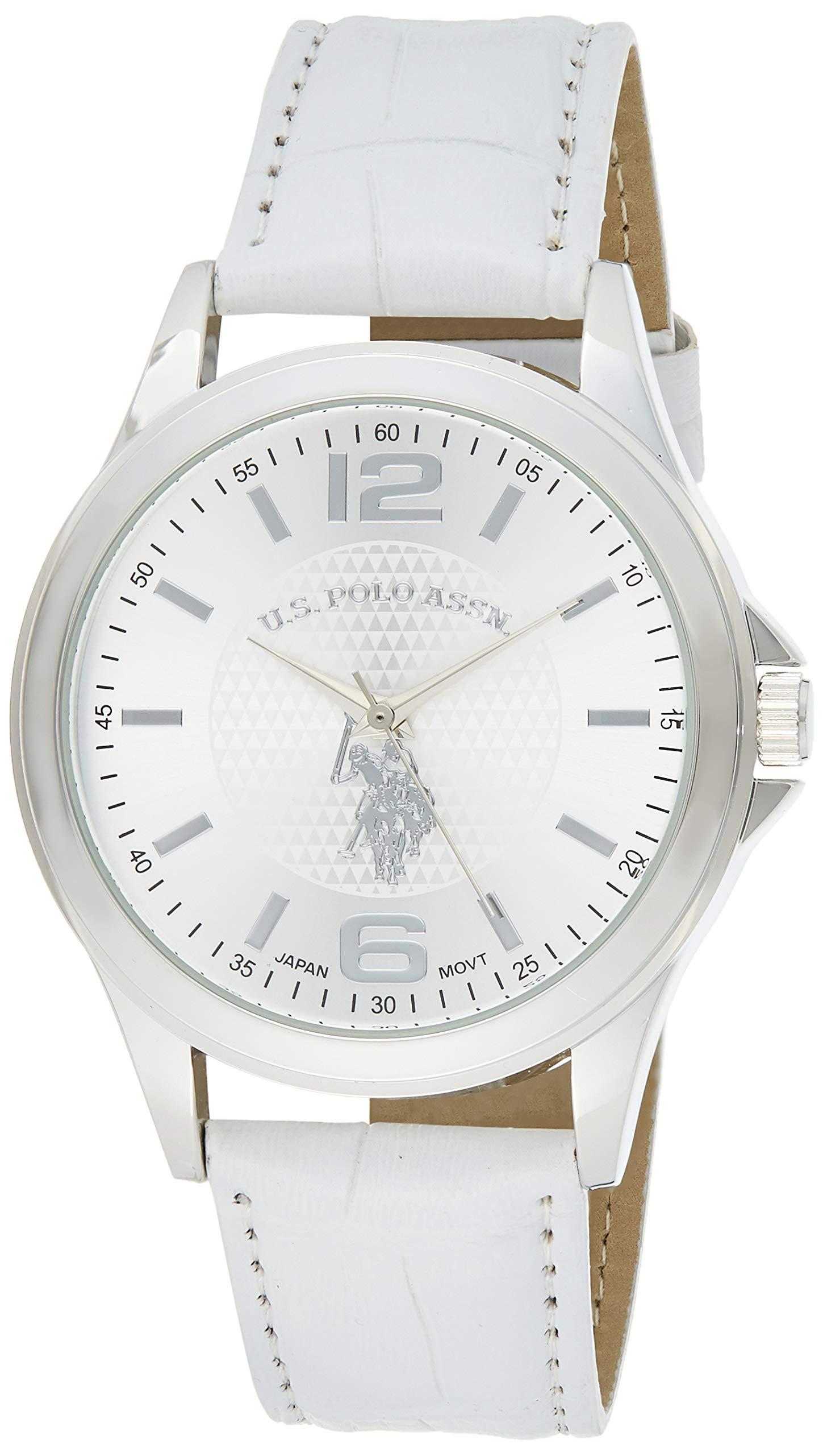 U.S. Polo Assn. Classic Men's USC50202 Analog Display Analog Quartz White Watch