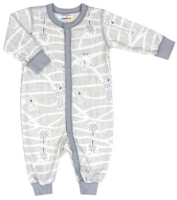 Joha - Pelele - para bebé niño gris 50 (0-1 Meses)