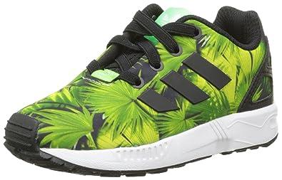 Chaussures Adidas Flux Zx L'ue Noir / Vert 19 (uk) 3k QubChDVNE