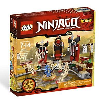 LEGO Ninjago Exclusive Special Edition Set #2519 Skeleton Bowling Includes Jay Dragon Ninja Mini Figure Spinner!: Toys & Games