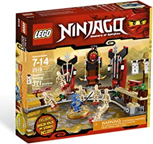 LEGO Ninjago Exclusive Special Edition Set #2519 Skeleton Bowling Includes Jay Dragon Ninja Mini Figure Spinner!